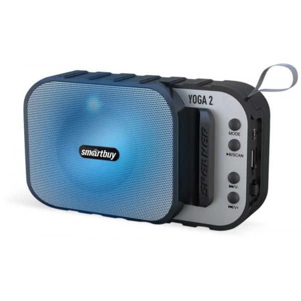 SBS-5040 Портативная Bluetooth-колонка Smartbuy YOGA 2, 5 Вт, USB, TF, MP3, FM, чёрная (100)