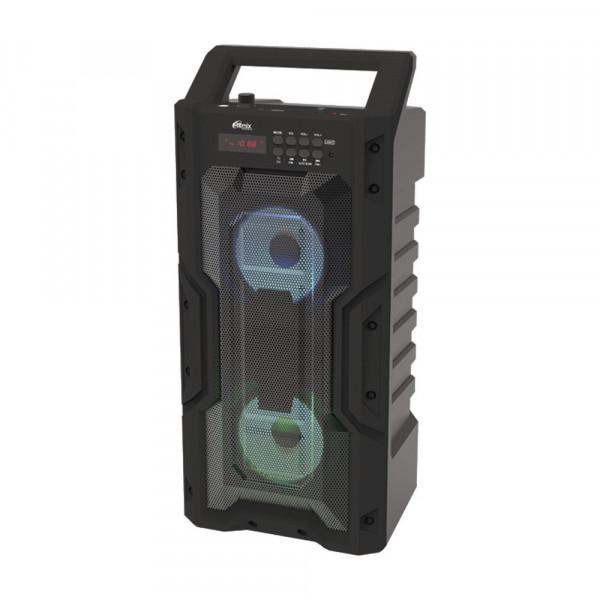 SP-830B Портативная Bluetooth-колонка Ritmix, TF, USB, MP3, FM, AUX, чёрная