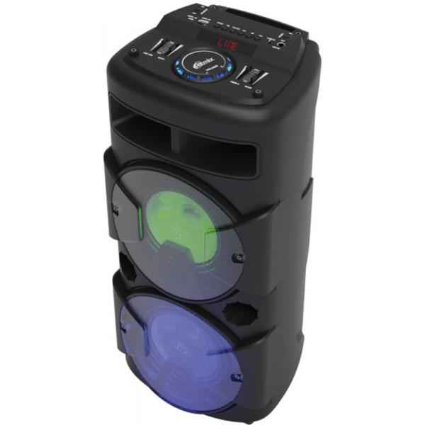 SP-870B Портативная Bluetooth-колонка Ritmix, TF, USB, MP3, FM, AUX, пульт, чёрная