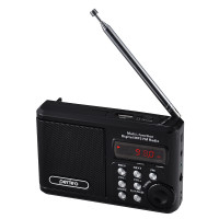 PF-SV922BK Perfeo мини-аудио Sound Ranger, УКВ+FM, MP3 (USB/microSD), AUX, BL-5C 1000 мАч, чёрный