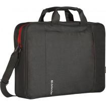 "Сумка для ноутбука  Geek 15.6"", чёрный, карман Defender"
