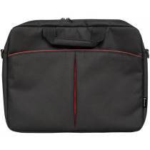 Сумка для ноутбука LOTA 15'-16', чёрный, органайзер, карман Defender