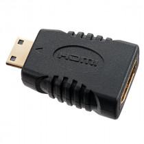 Переходник (A7001) Perfeo - HDMI C (mini HDMI) вилка - HDMI A розетка