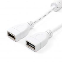 Кабель ATcom AT5647 USB 2.0 A розетка - А розетка, длина 1,8 м