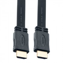 Кабель (H1301) Perfeo - HDMI A вилка - HDMI A вилка, плоский, ver.1.4, длина 1 м. (30)