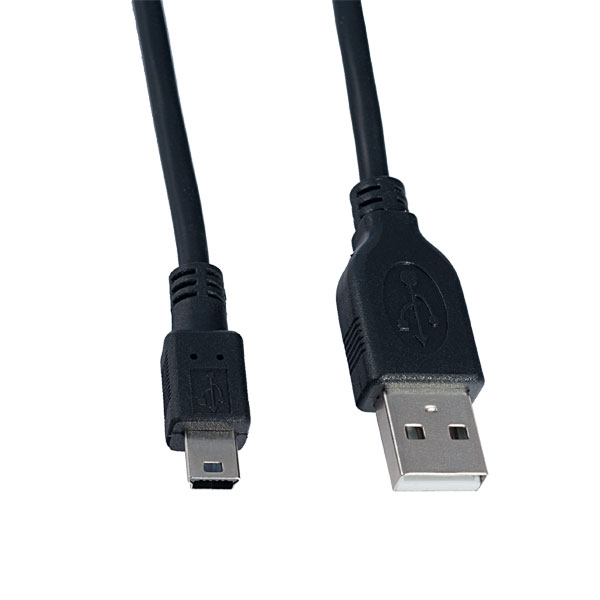 Кабель (U4301) Perfeo USB 2.0 A вилка - mini-USB 5P вилка, длина 1 м. (80)