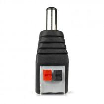 Наконечник питания 2.1х5.5 мм, штекер, быстрозажимной Smartbuy (A211) (2шт.)
