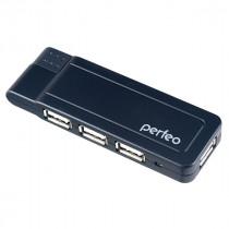 USB-хаб 4 порта PF-VI-H021 Perfeo чёрный