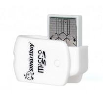 Картридер SBR-706-W MicroSD Smartbuy, белый