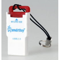Картридер SBR-707-R MicroSD Smartbuy, красный