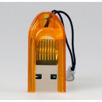 Картридер SBR-710-O MicroSD Smartbuy, оранжевый