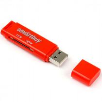 Картридер SBR-715-R Smartbuy красный