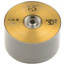 Диск CD-R CB-50 (Bulk/50) 80 52x  VS