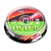 Диск DVD+R CB-10 4,7 GB 16x  VS