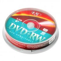 Диск DVD+RW CB-10 4,7 GB 4x VS