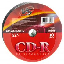 Диск CD-R SP-10 (Shrink/10) 80 52x  VS