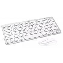 Комплект беспроводной Hoco DI05 Bluetooth, клавиатура + мышь, белый
