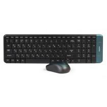 Комплект беспроводной SBC-222358AG-K Smartbuy клавиатура+мышь мультимед Black