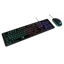 Игровой набор Dialog Gan-Kata KMGK-1707U, мышь+клавиатура, чёрный