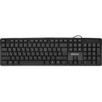 Клавиатура проводная Defender Next HB-440 RU, чёрный