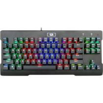 Клавиатура проводная механическая игровая Redragon Visnu RU, RGB, Full Anti-Ghosting
