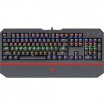 Клавиатура проводная механическая игровая Redragon Andromeda RU, RGB, FullAnti-Ghost, Outemu