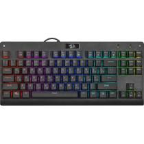 Клавиатура проводная механическая игровая Redragon Dark Avenger RU, RGB подсветка, компактная