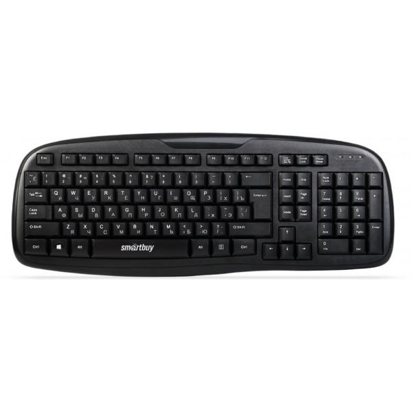 Клавиатура проводная Smartbuy SBK-116-K ONE, USB, чёрный