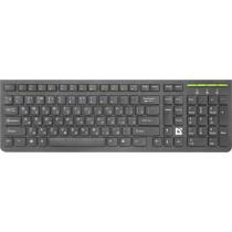 Клавиатура беспроводная Defender UltraMate SM-536 RU, мультимедиа, чёрный