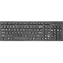 Клавиатура беспроводная Defender UltraMate SM-535 RU, мультимедиа, чёрный