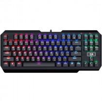 Клавиатура проводная механическая игровая Redragon Usas RU, RGB, FullAnti-Ghost, Outemu,компактная