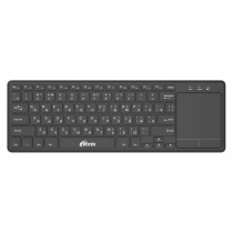 Клавиатура беспроводная с тачпадом Ritmix RKB-350BTH, Bluetooth (Android, iOS, ПК, SmartTV)