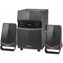 Акустическая 2.1 система X181 18 Вт, Bluetooth, FM/MP3/SD/USB/LED/RC Defender