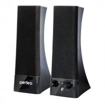 PF-532 Perfeo Колонки Tower 2,0, мощность 2х3 Вт (RMS), чёрные, USB