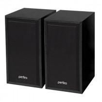"""PF-84 Perfeo Колонки """"Cabinet"""" 2.0, мощность 2*3 Вт (RMS), черн дерево, USB"""