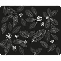 Коврик для мыши PM-H15 leafs Dialog - чёрный рисунок листья