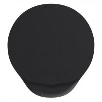 Коврик для мыши VS  гелевый VS_4207, (220*185*3 мм), ткань+резиновое основание, чёрный