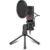 Микрофон Redragon Seyfert GM100, игровой стрим, 3.5 мм, кабель 1.5 м