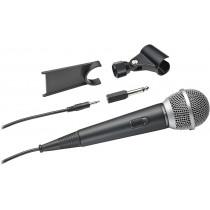 Микрофон Audio-Technica ATR1200x, вокальный, Jack 3.5 мм, (переходник Jack 3.5мм - Jack 6.5мм), 5 м