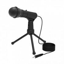 Микрофон RDM-120 Ritmix конденсаторный, на штативе-подставке, чёрный