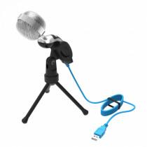 Микрофон RDM-127 Ritmix конденсаторный, на штативе-подставке, USB, кабель 1,5м, чёрный