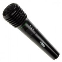 Микрофон для караоке RWM-100 чёрный, беспроводной, пластик, радио 87,5 - 92МГц Ritmix