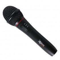 Микрофон для караоке RWM-101 чёрный, беспроводной, пластик, радио 87,5 - 92МГц Ritmix