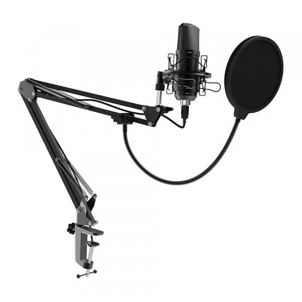 Микрофон RDM-169 Ritmix конденсаторный, стойка-пантограф со струбциной, кабель 1,5 м