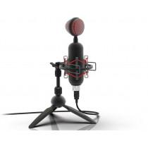 Микрофон RDM-230 Ritmix настольный, штатив-тренога, USB, 1,8м, чёрный