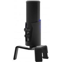 Микрофон RDM-290 Ritmix настольный, штатив-подставка, RGB, USB, 1,8м, чёрный
