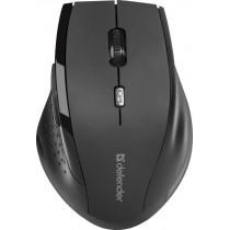 Мышь беспроводная Accura MM-365 чёрный, оптическая, 6 кнопки, 800-1600 dpi Defender