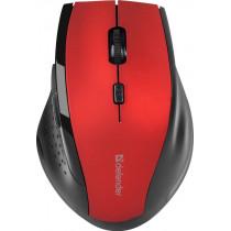 Мышь беспроводная Accura MM-365 красный, оптическая, 6 кнопки, 800-1600 dpi Defender