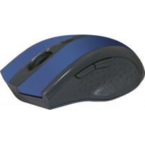 Мышь беспроводная Accura MM-665 синий, оптическая, 6 кнопки, 800-1600 dpi Defender