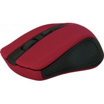Мышь беспроводная Accura MM-935 красный, оптическая, 4 кнопки, 800-1600 dpi Defender